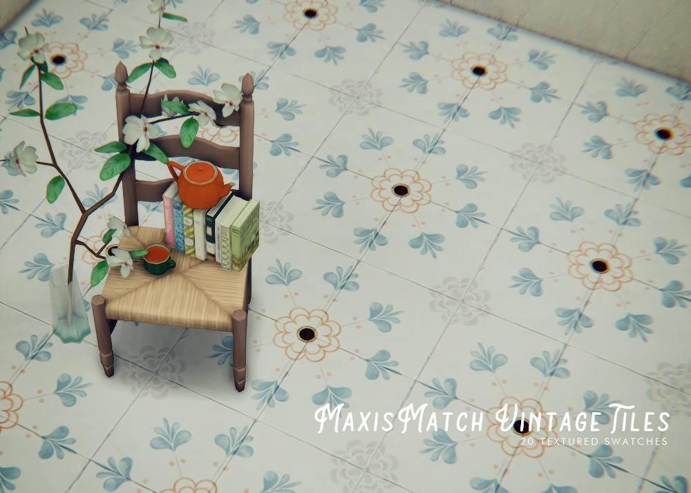 Напольная плитка - MAXIS MATCH VINTAGE TILES