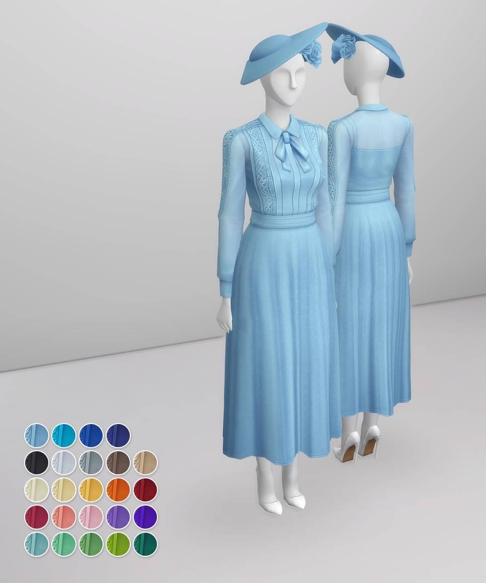 Платье - Duchess of Blue