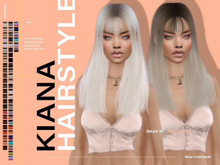 Прическа - Kiana Hairstyle