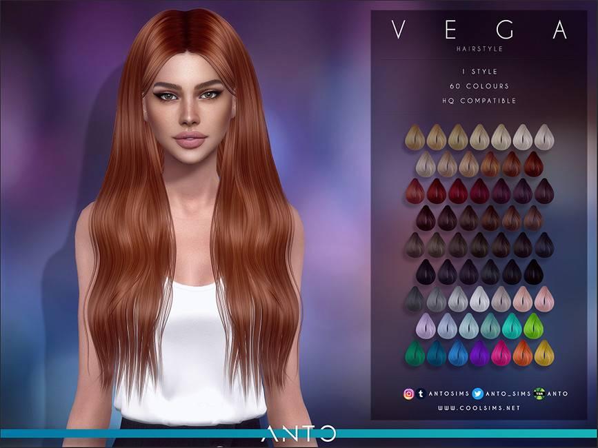 Женская прическа - Vega