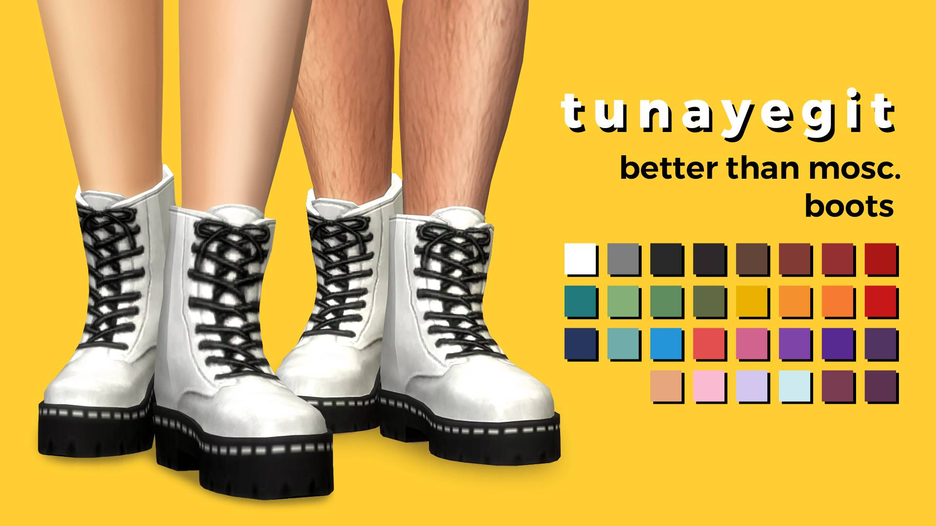 Ботинки - better than mosc