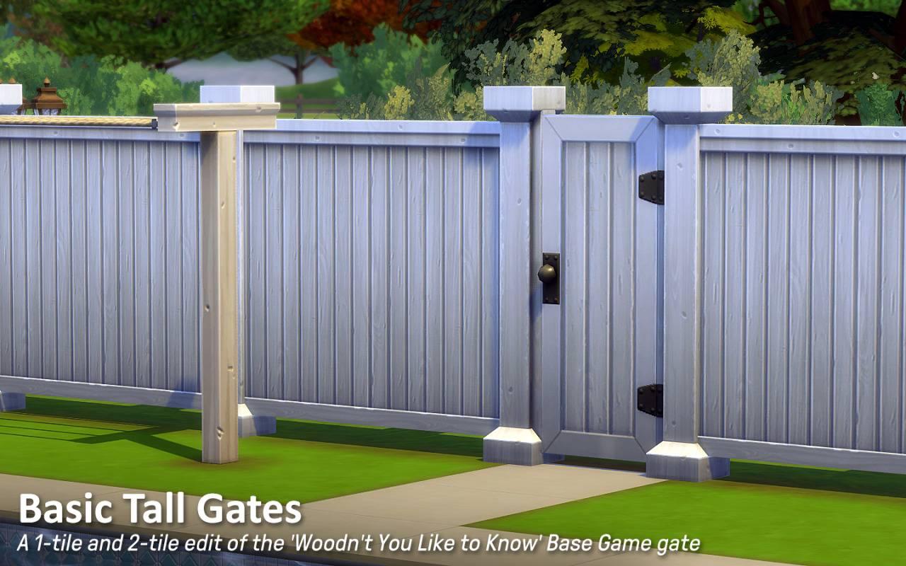 Ворота - Basic Tall Gates