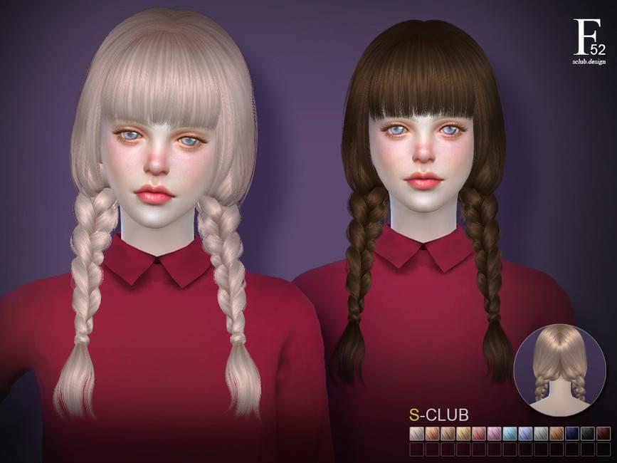 Женская прическа - hair n52