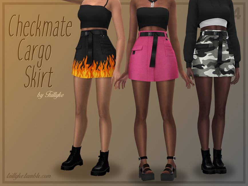 Юбка - Checkmate Cargo Skirt