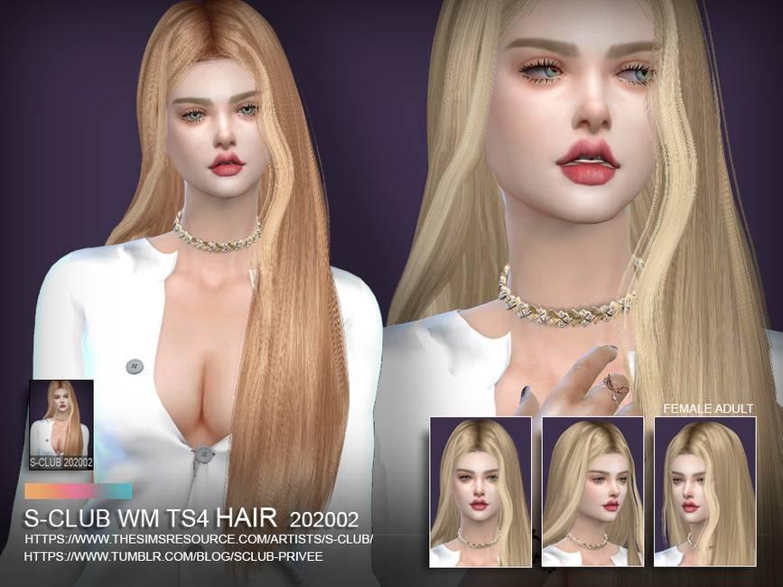 Женская прическа - Hair 202002
