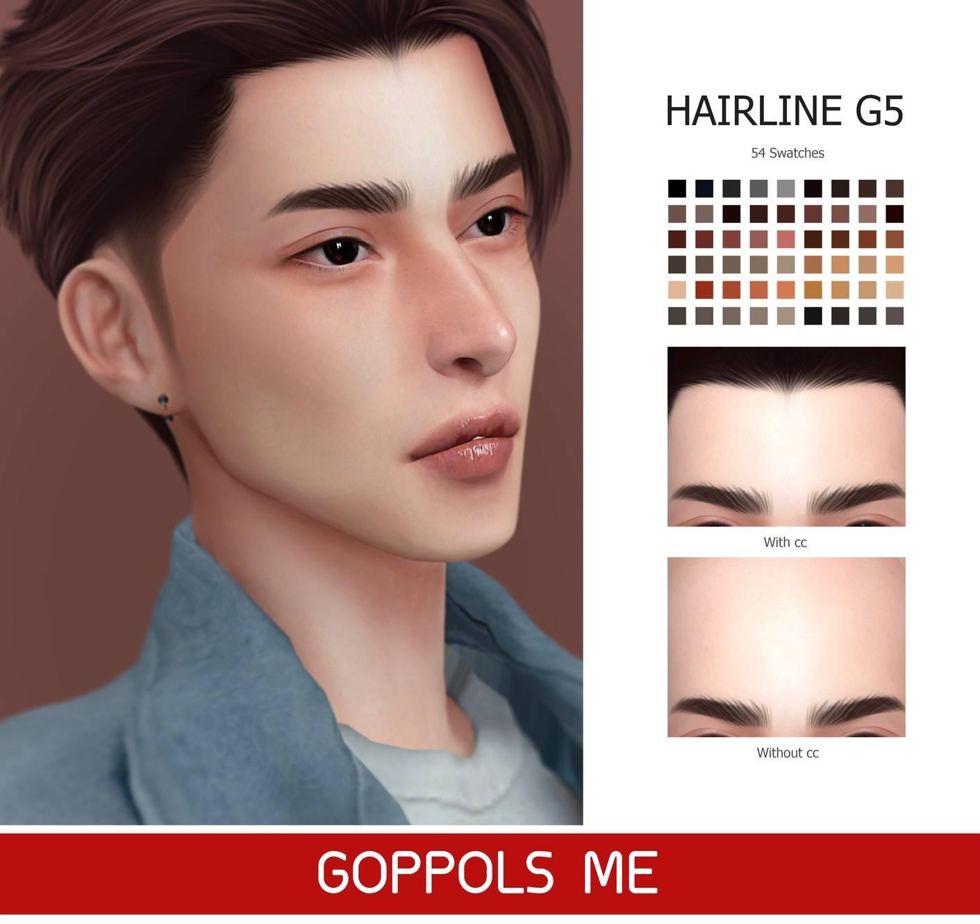 Линия волос - Hairline G5