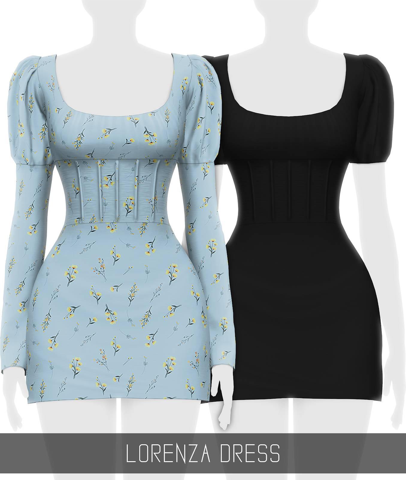 Платье - LORENZA DRESS