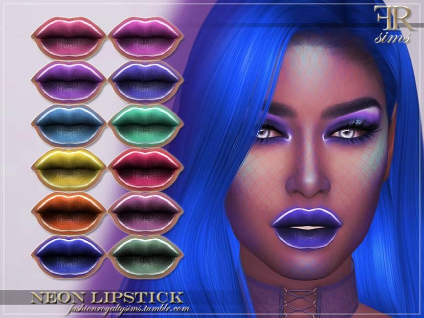 Макияж губ - FRS Neon Lipstick