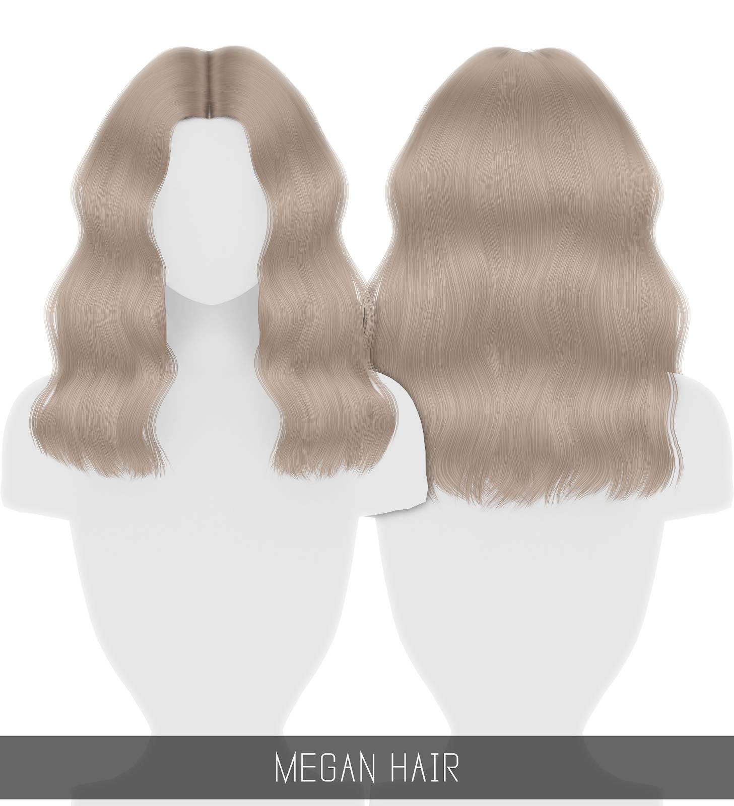 Прическа для женщин, девочек и малышек - MEGAN HAIR