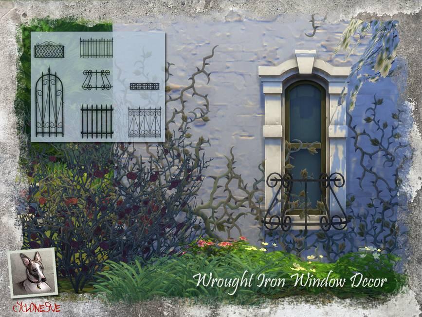 Решетки на окна - Wrought Iron Window Decor
