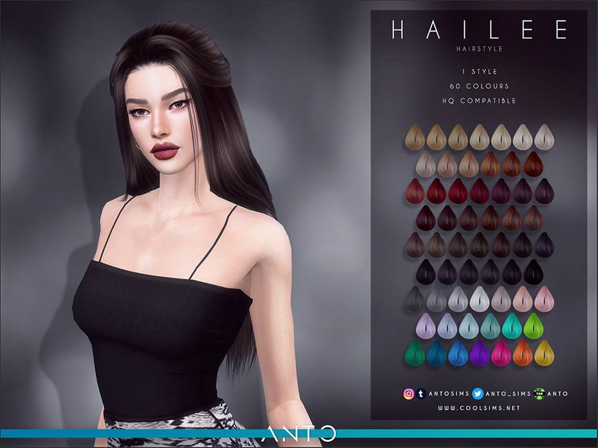 Женская прическа - Hailee