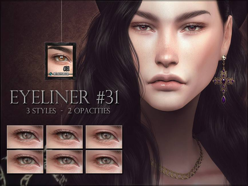 Ресницы - Eyeliner 31