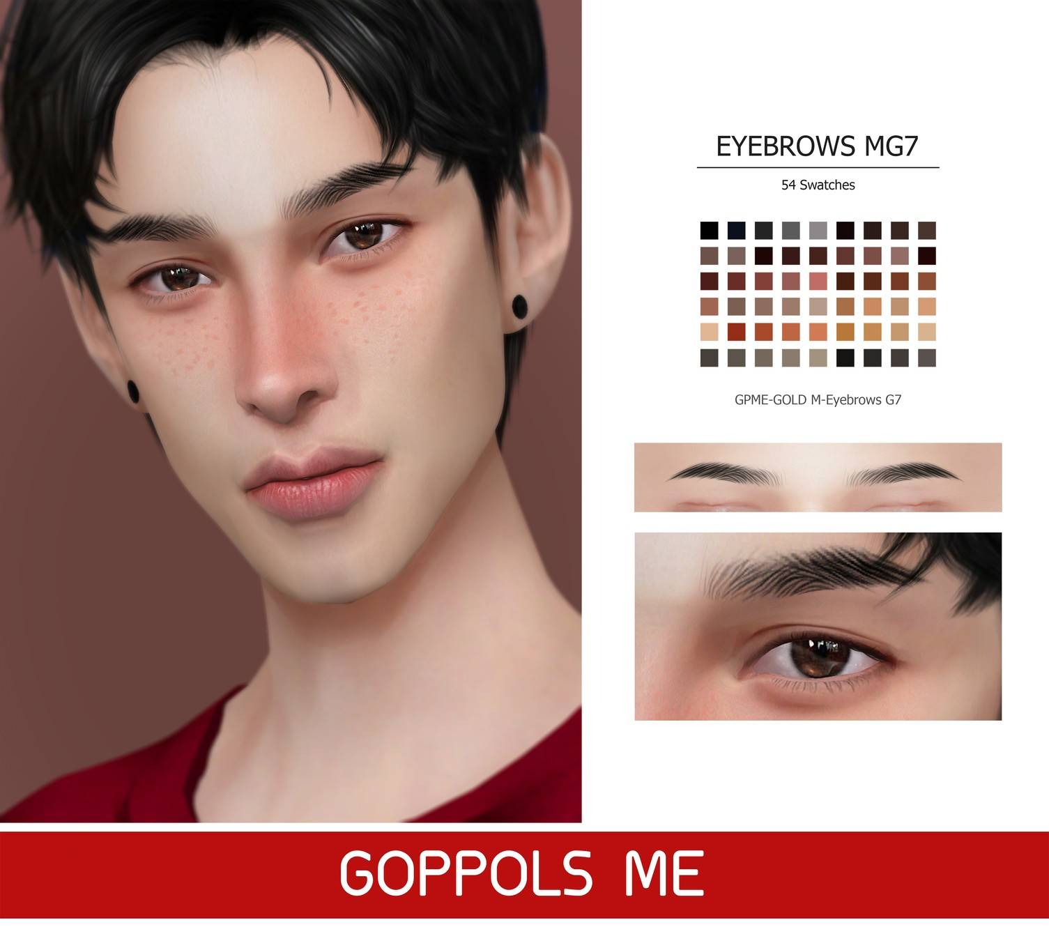 Брови - Eyebrows G7