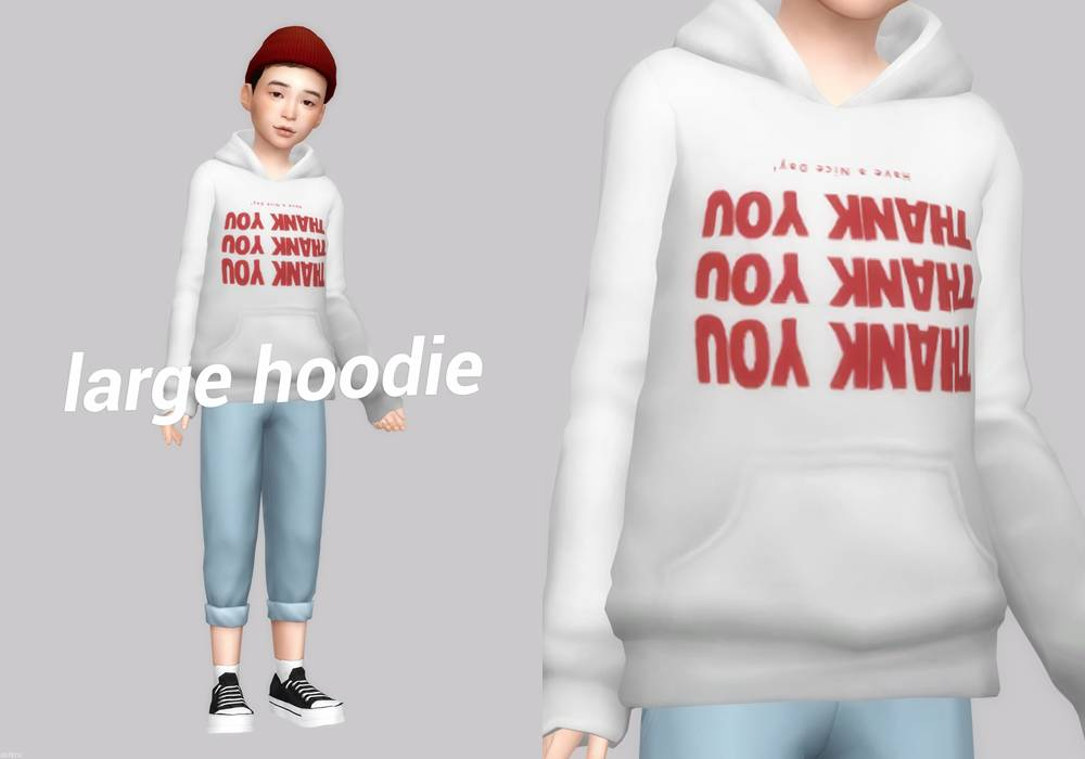 Худи - large hoodie