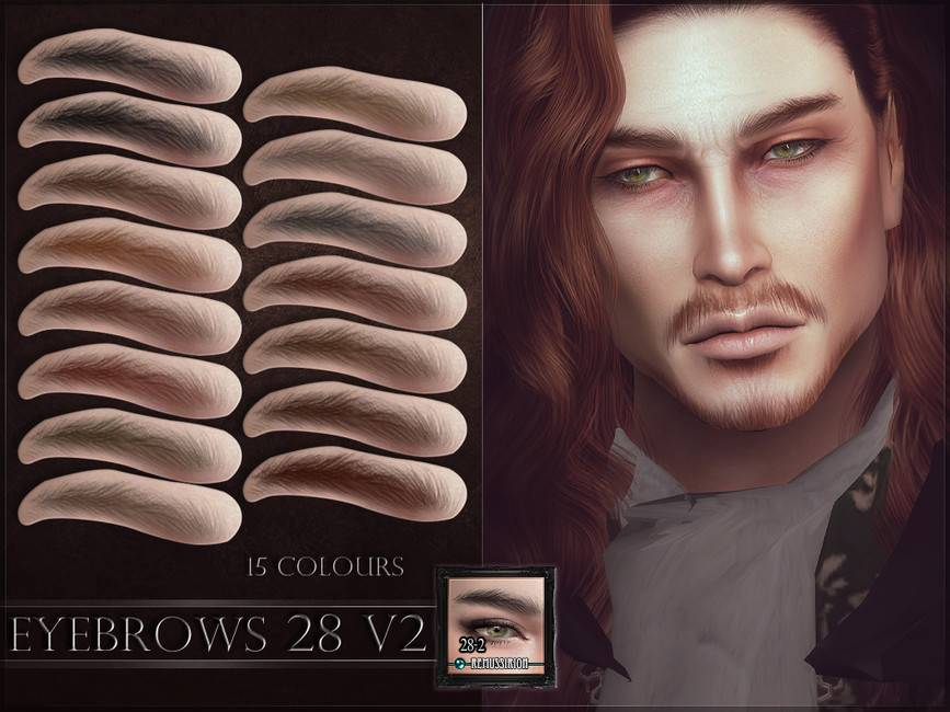 Брови - Eyebrows 28 V2
