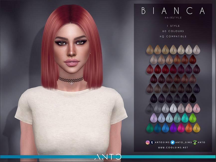 Женская прическа - Bianca