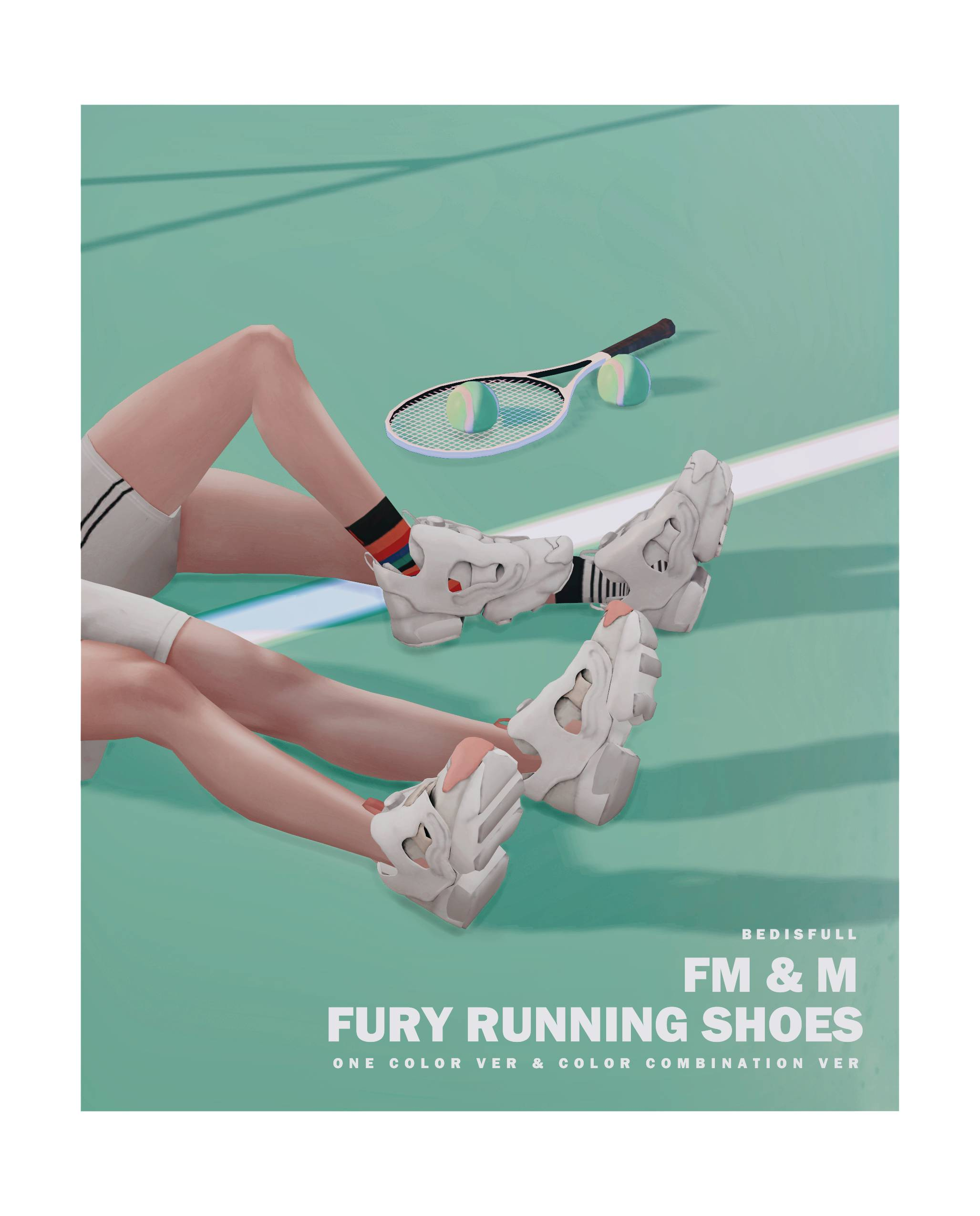 Кроссовки - Fury running shoes