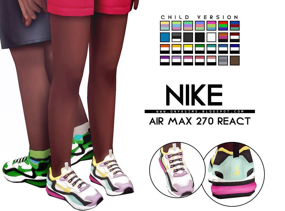 Детские кроссовки - NIKE AIR MAX 270 REACT