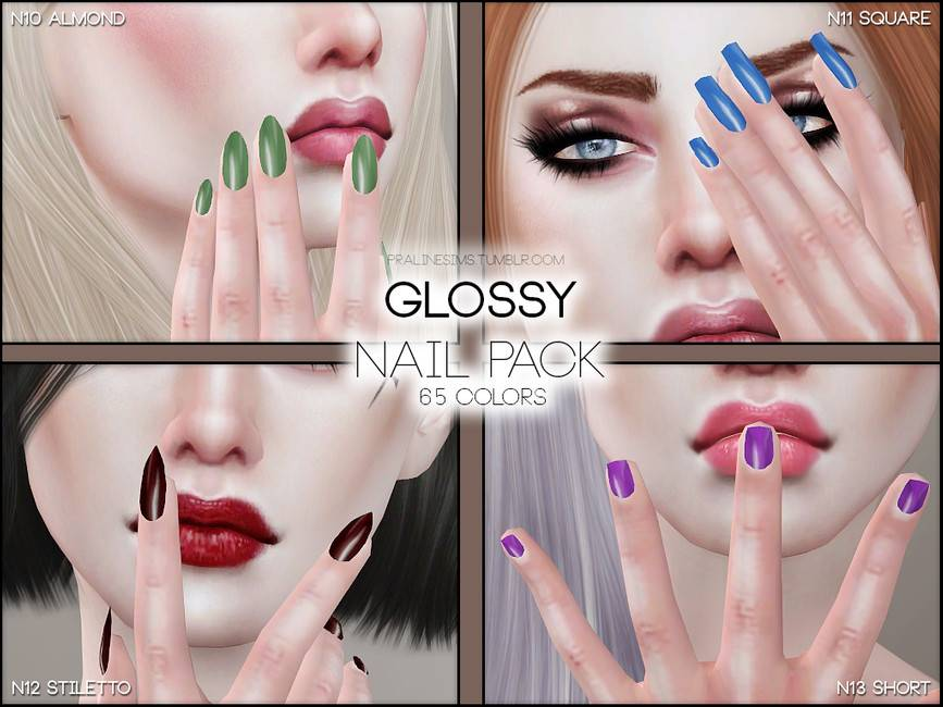 Маникюр - Glossy Nail Pack