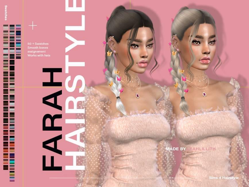 Прическа - Farah Hairstyle