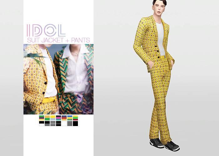 Мужской костюм - IDOL Suit Jacket + Pants