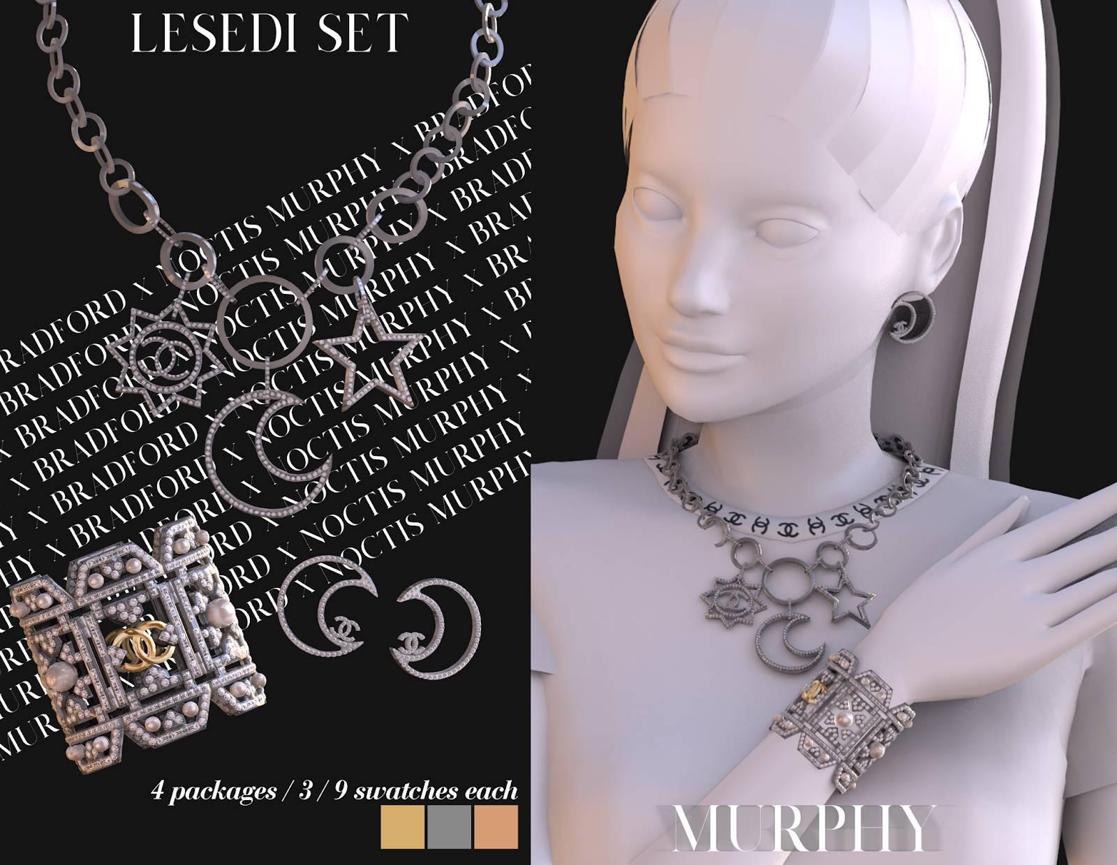 Комплект украшений - Lesedi Set