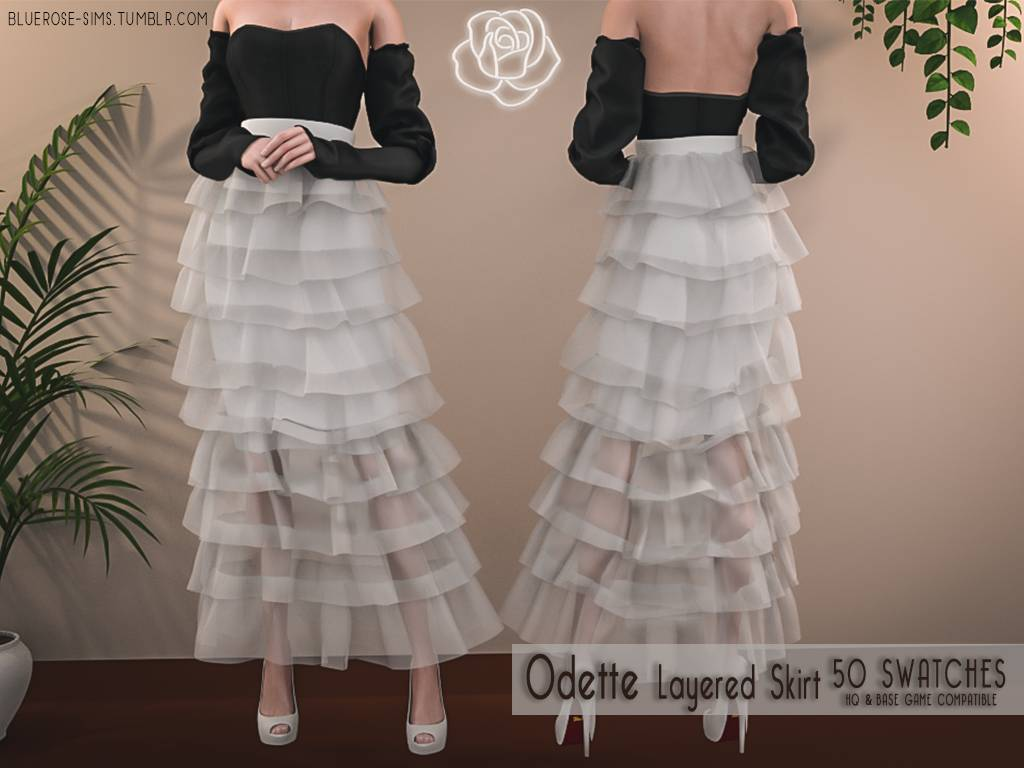 Юбка - Odette Layered Skirt