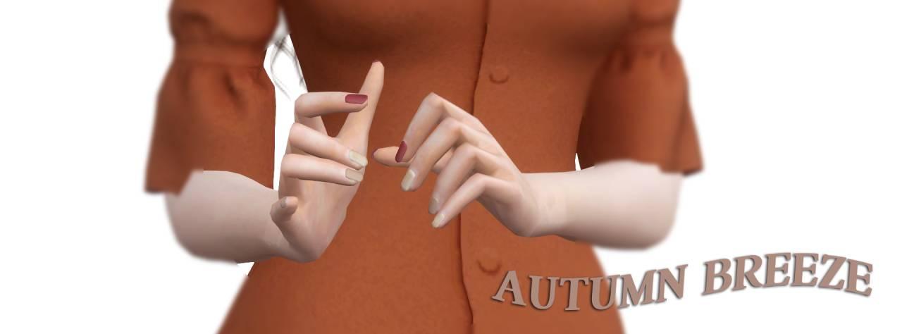 Маникюр - Autumn Breeze