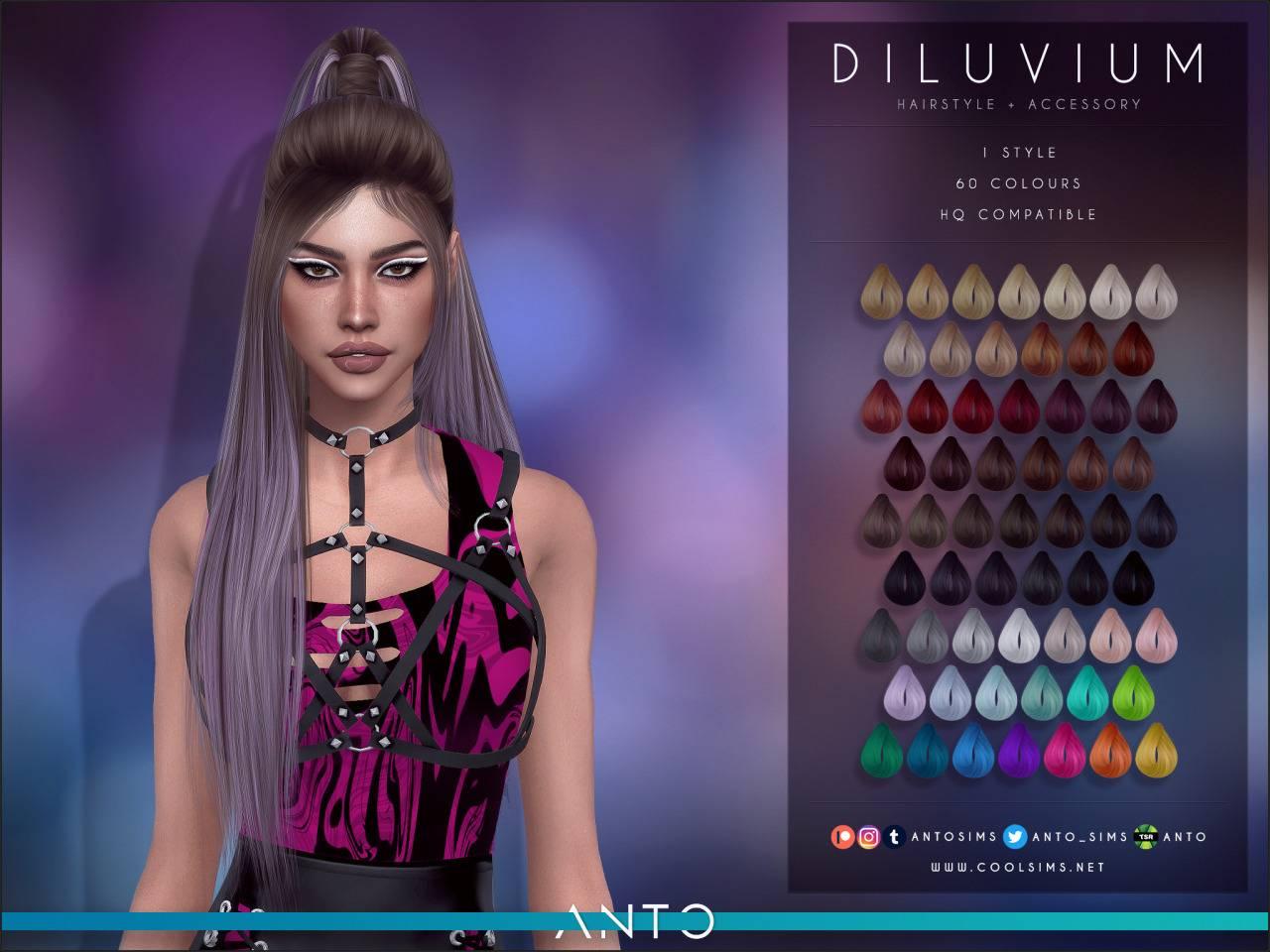 Женская прическа - Diluvium