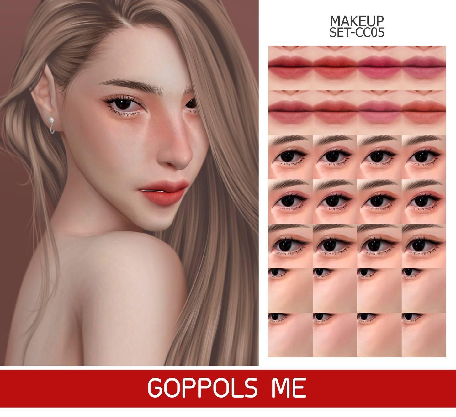 Набор косметики - MAKEUP SET CC05