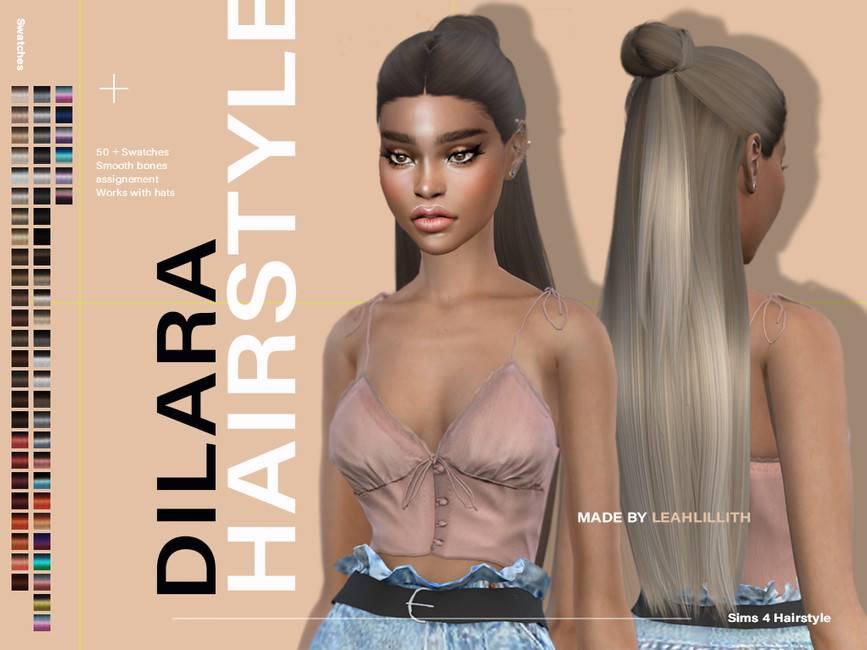 Женская прическа - Dilara Hairstyle