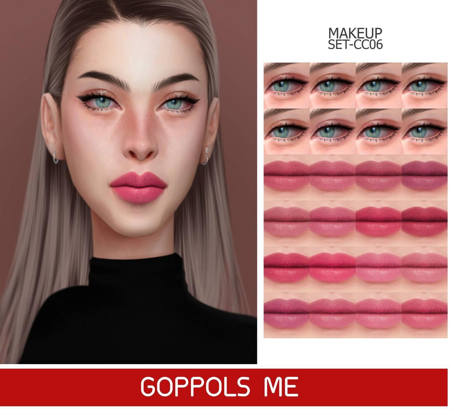 Набор косметики - MAKEUP SET CC06