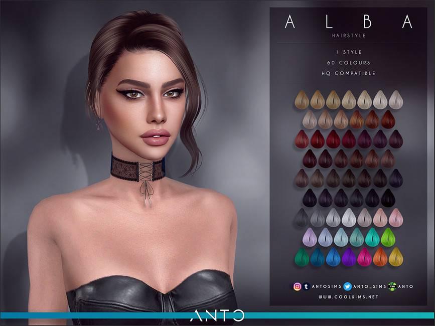 Женская прическа - Alba