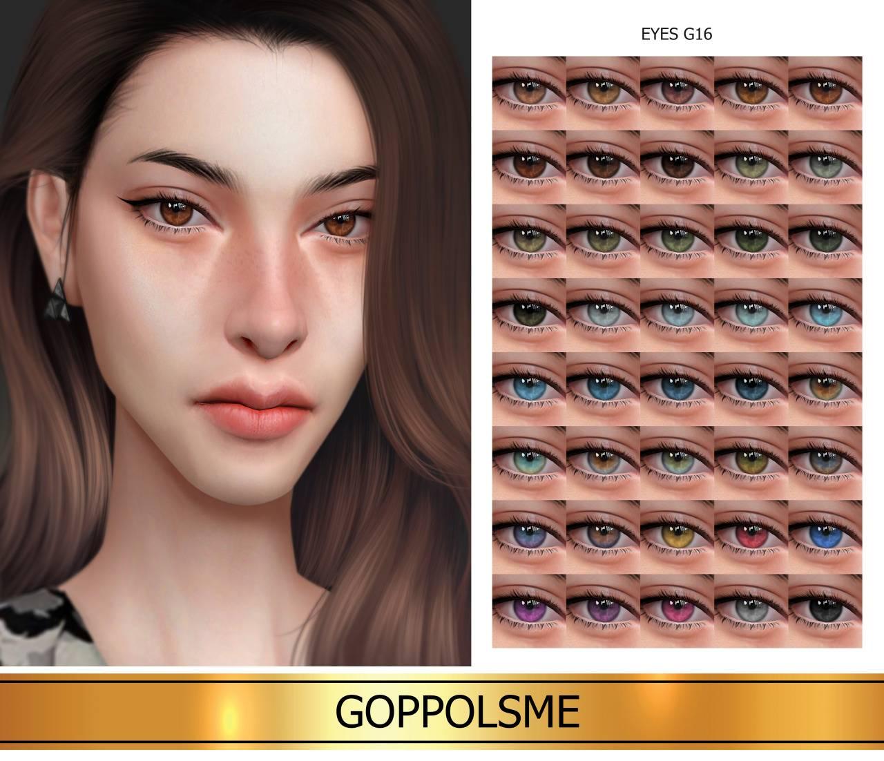 Линзы - Eyes G16