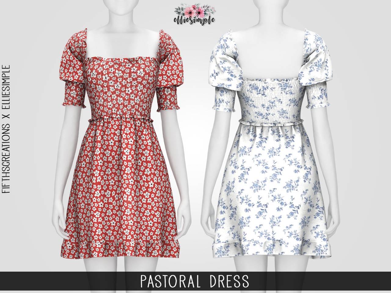Платье - pastoral dress