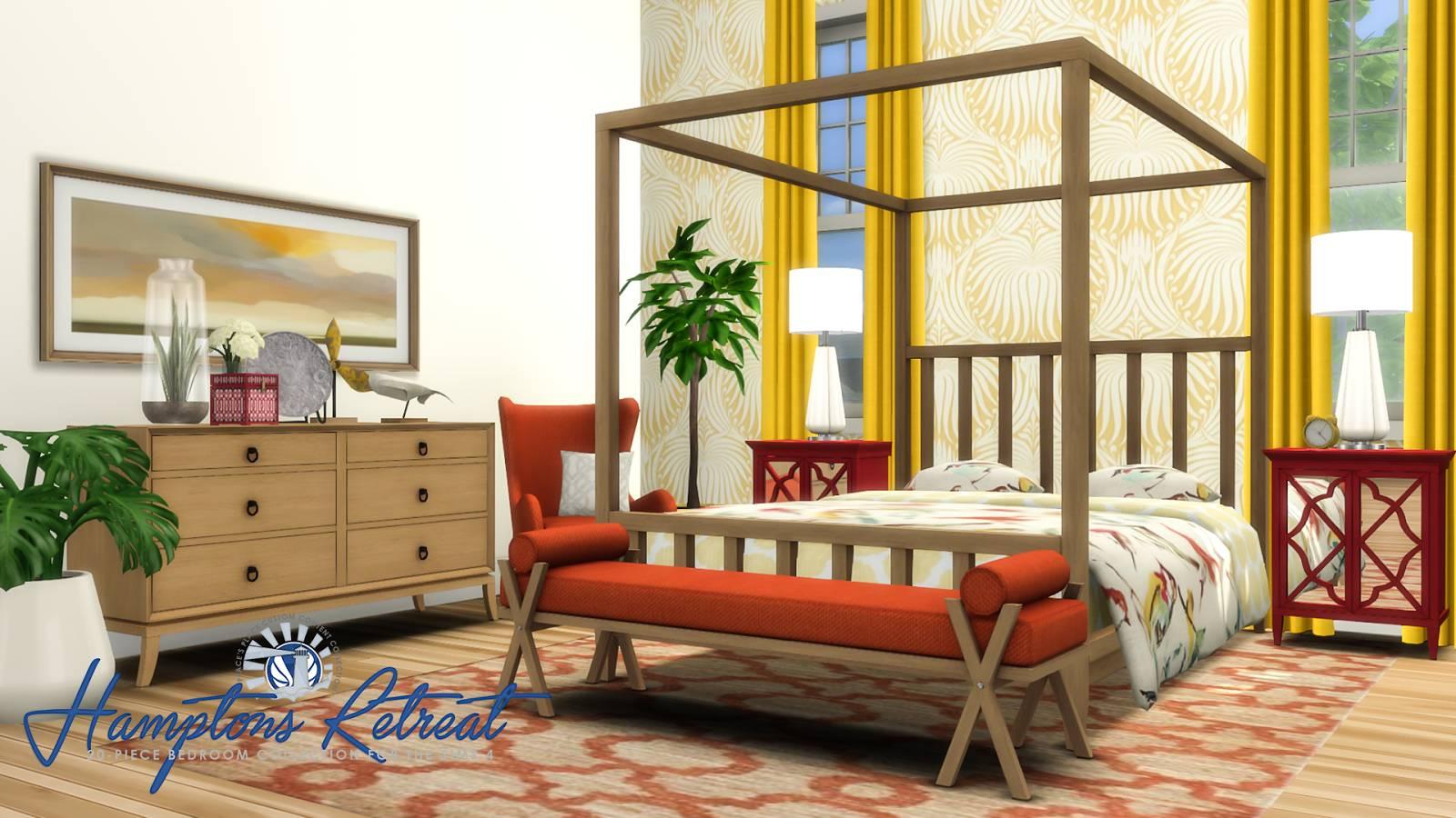 Спальня - Hamptons Retreat