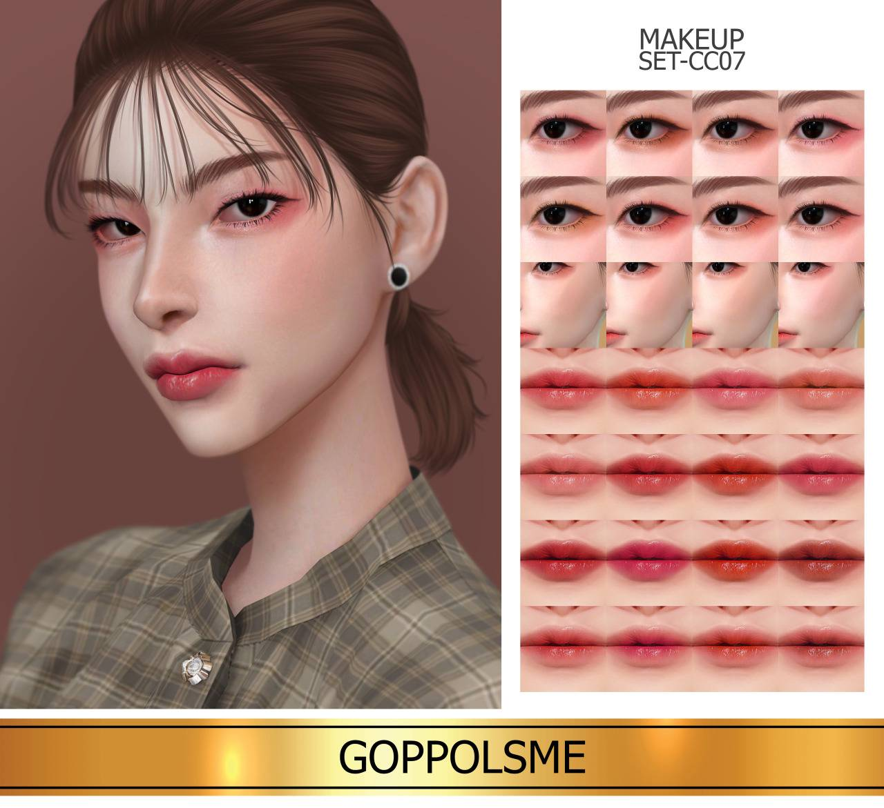 Набор косметики - MAKEUP SET CC07