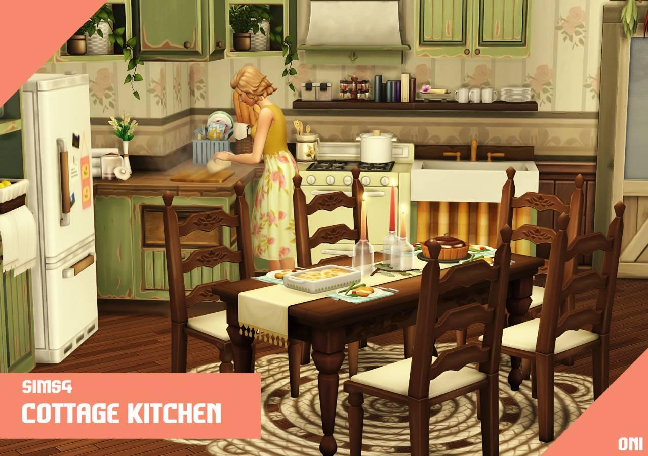 Кухонный гарнитур - Cottage Kitchen