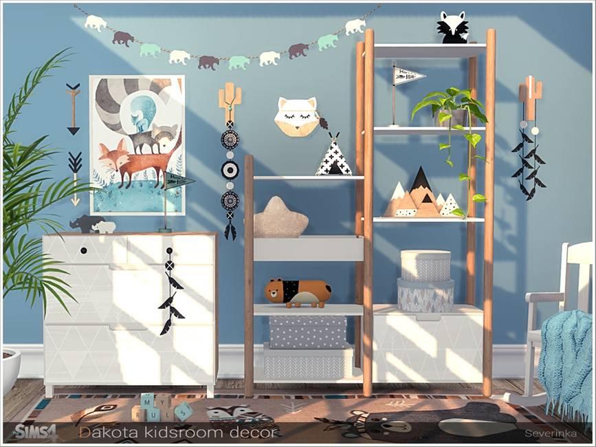 Набор декора для детской комнаты - Dakota kidsroom decor