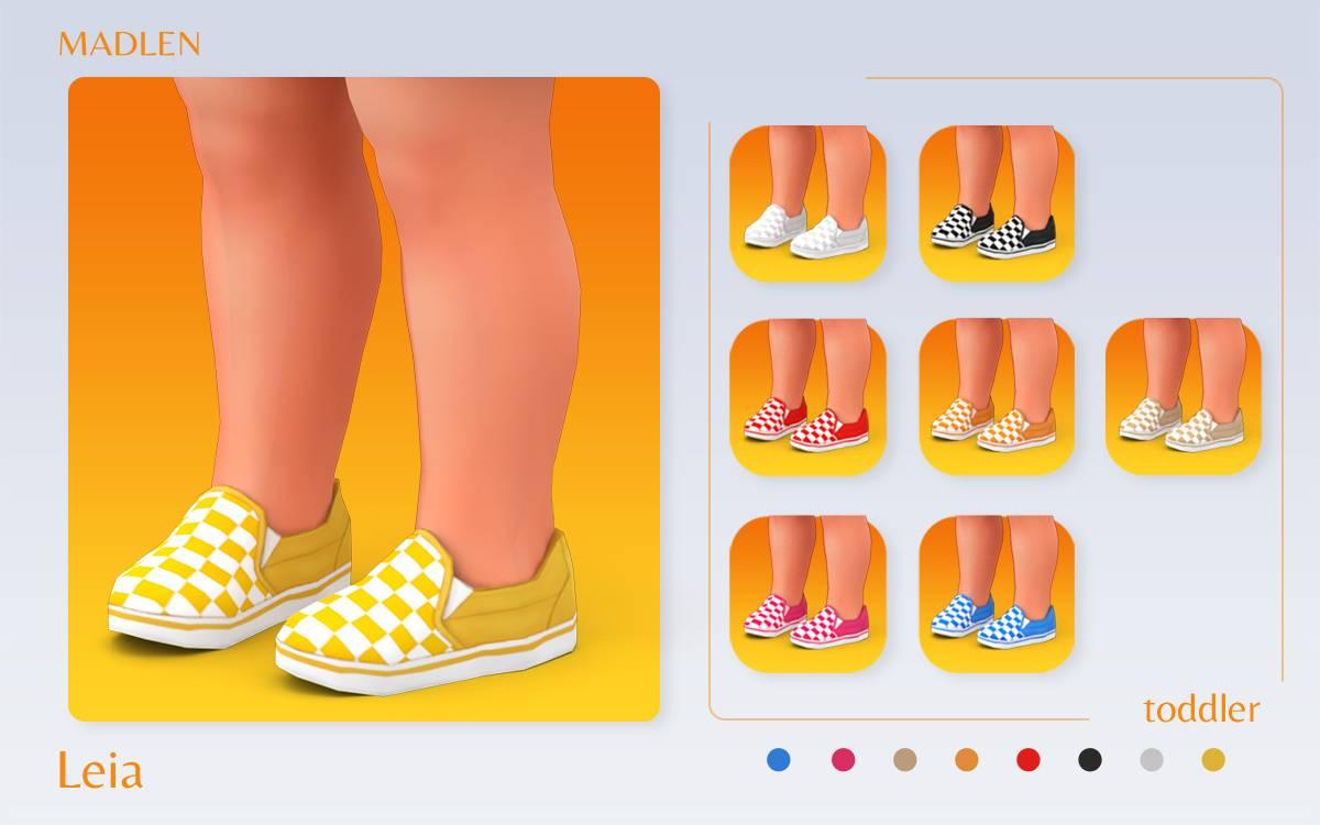 Слипоны - Leia Shoes