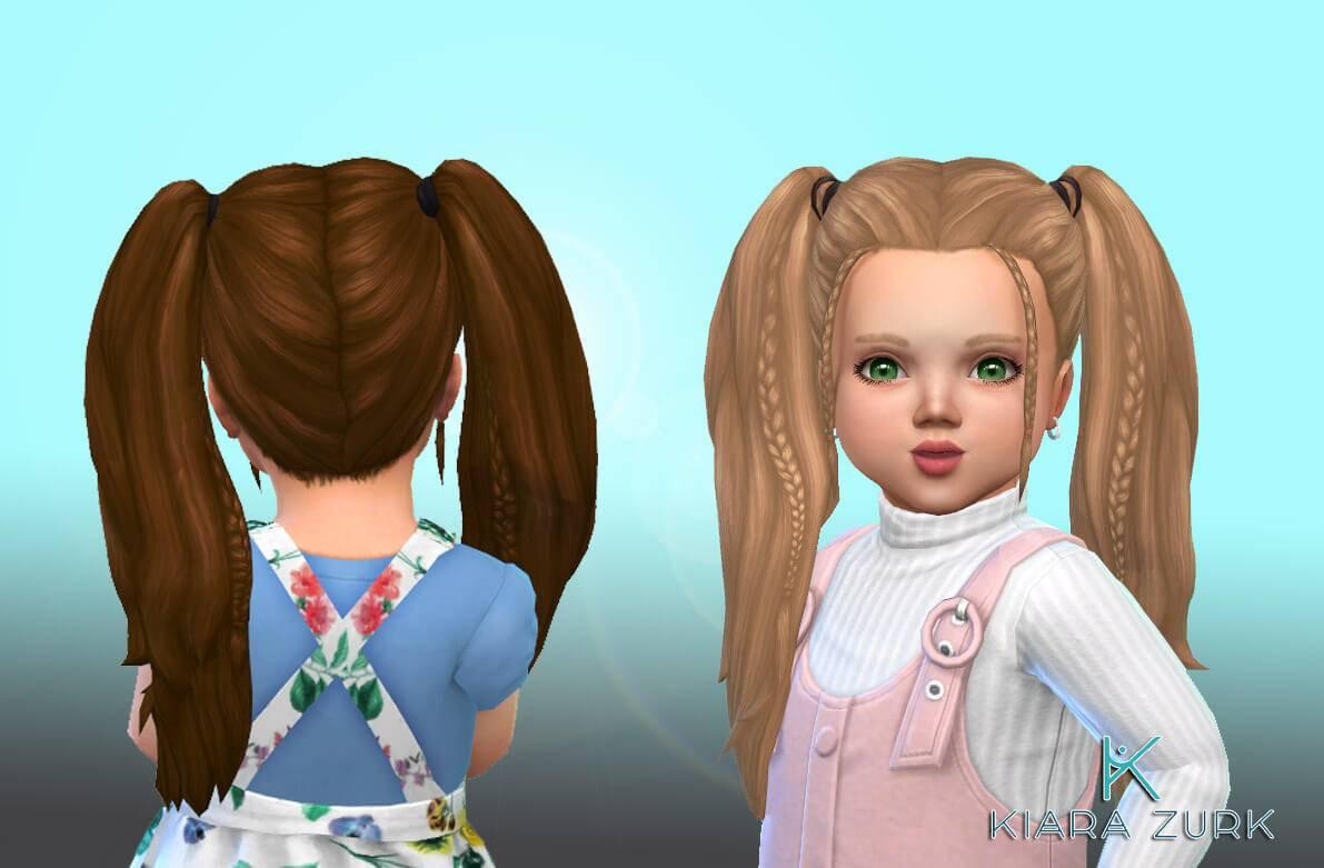 Прическа для тоддлеров - Harper Hairstyle