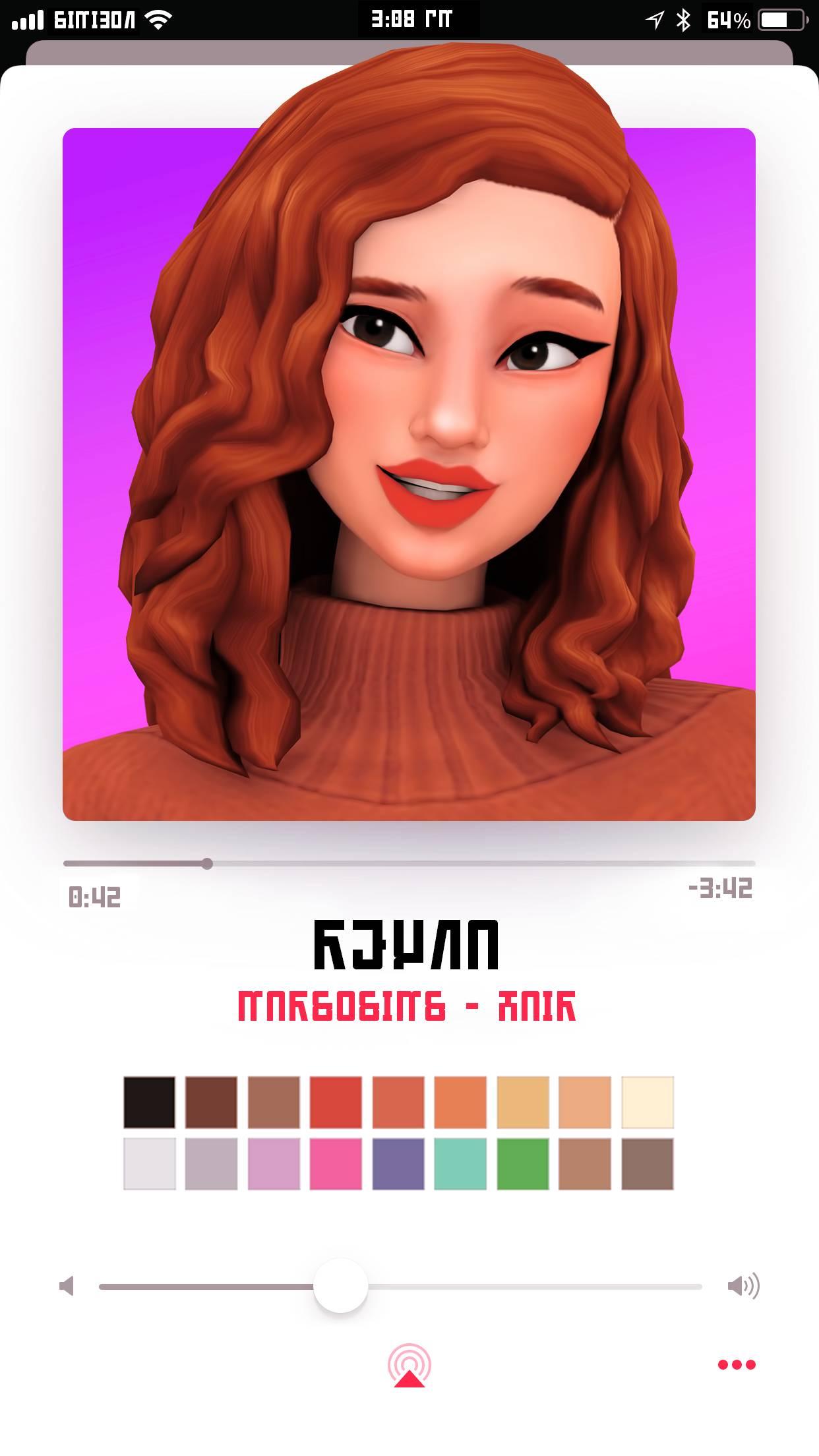 Женская прическа - reyna hair