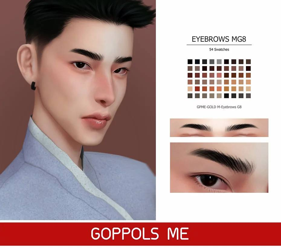 Брови - Eyebrows G8