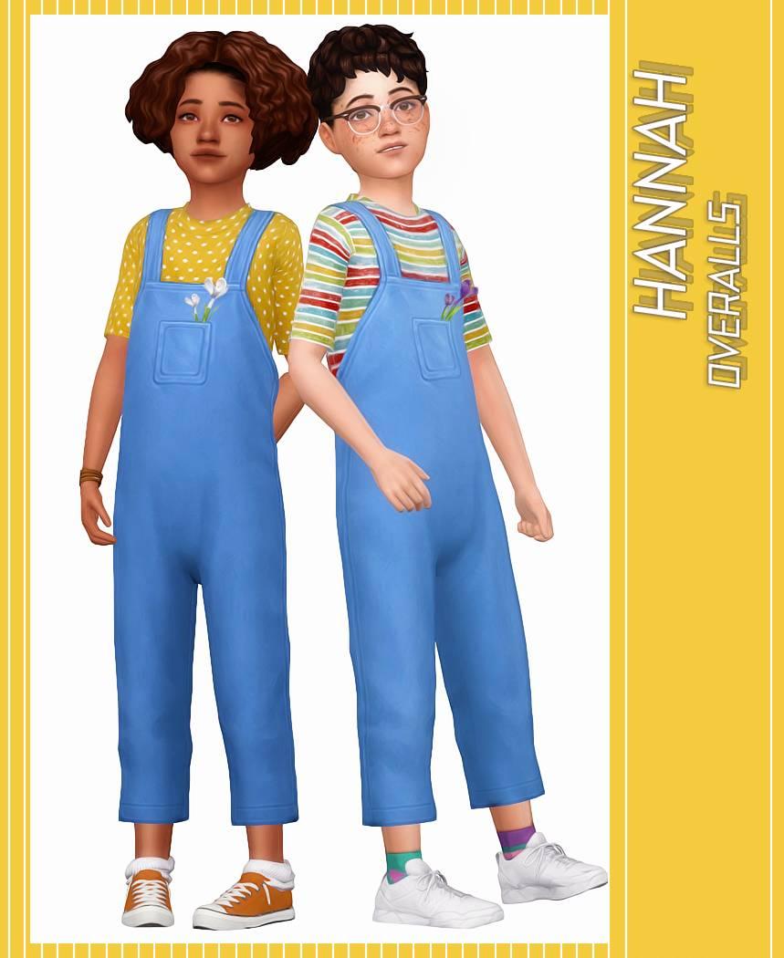 Комбинезон и футболка - HANNAH OVERALLS