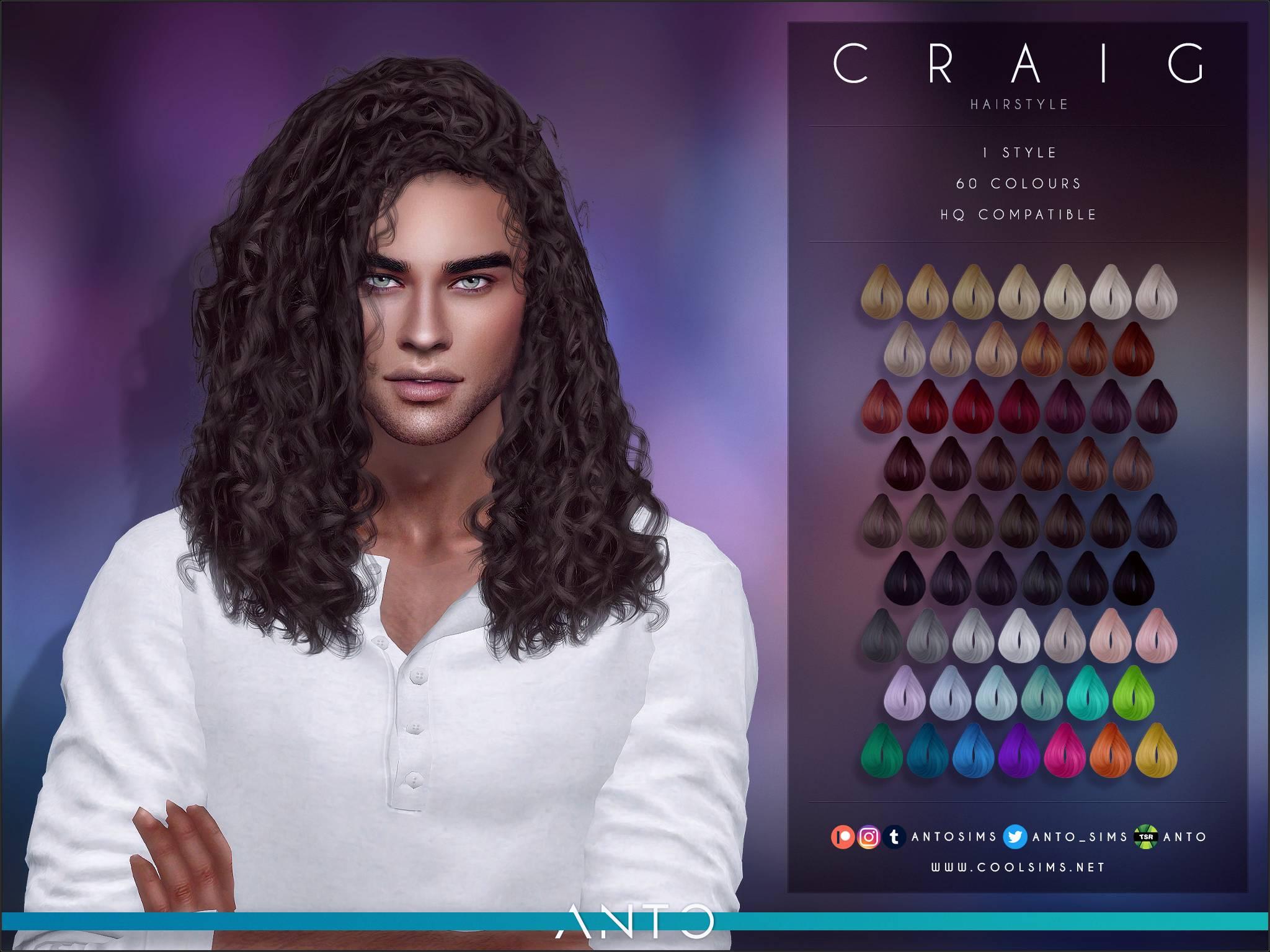 Мужская прическа - Craig