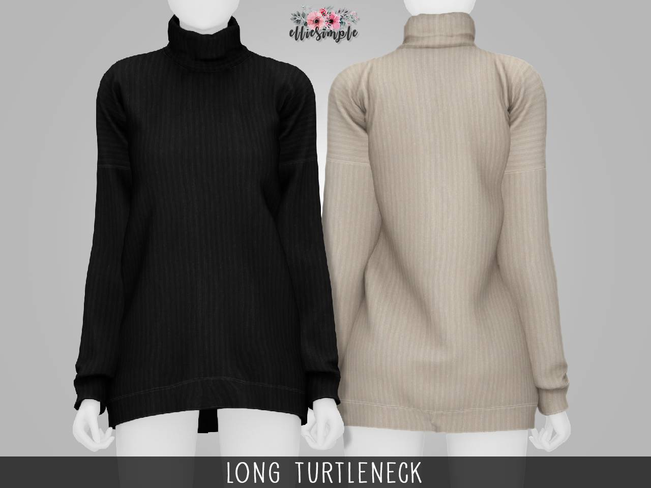 Свитер - Long Turtleneck