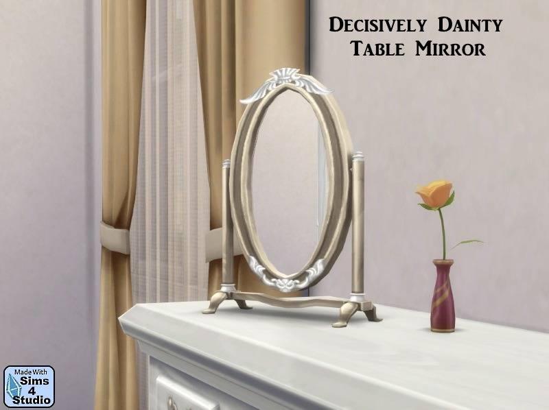Настольное зеркало - Decisively Dainty Table Mirror