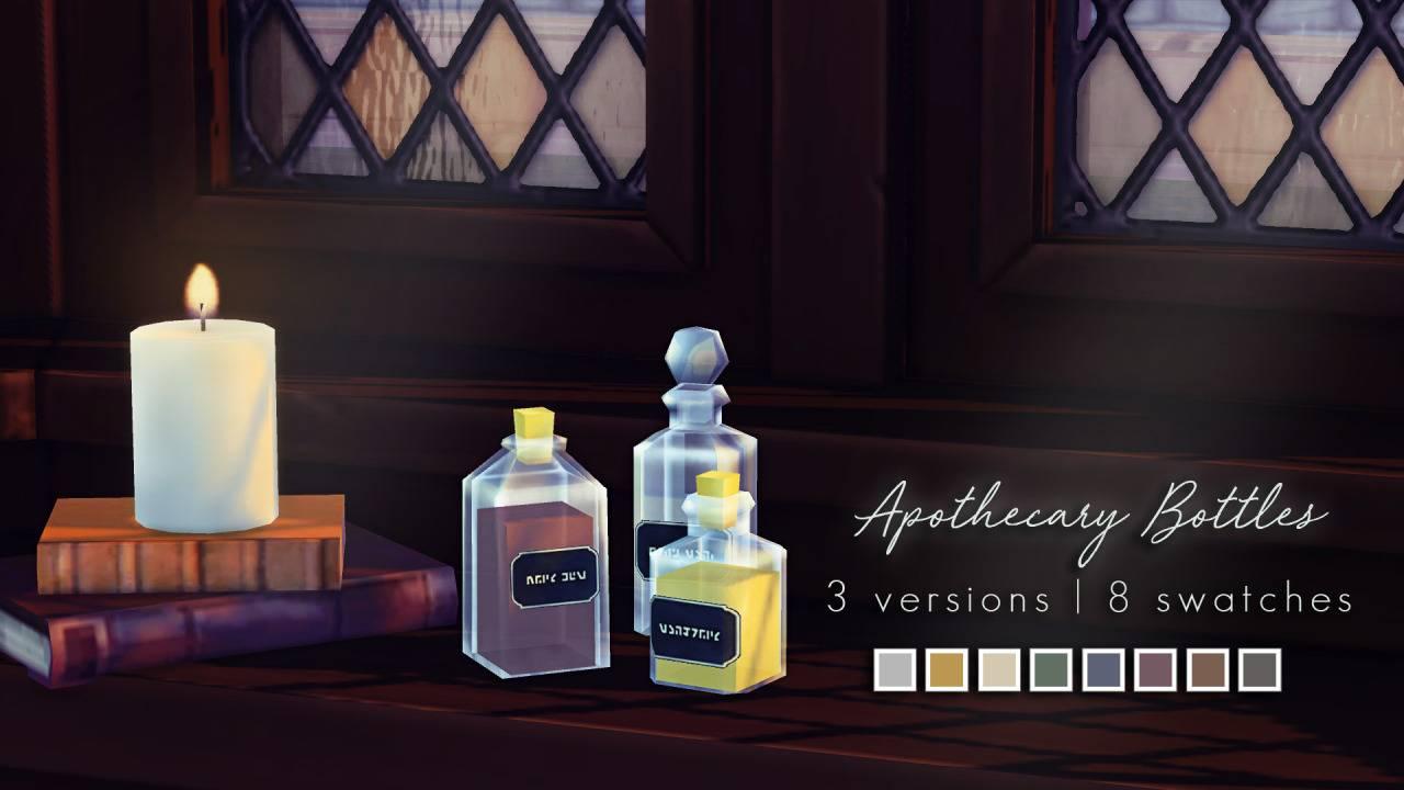 Декоративные бутылочки - Apothecary Bottles