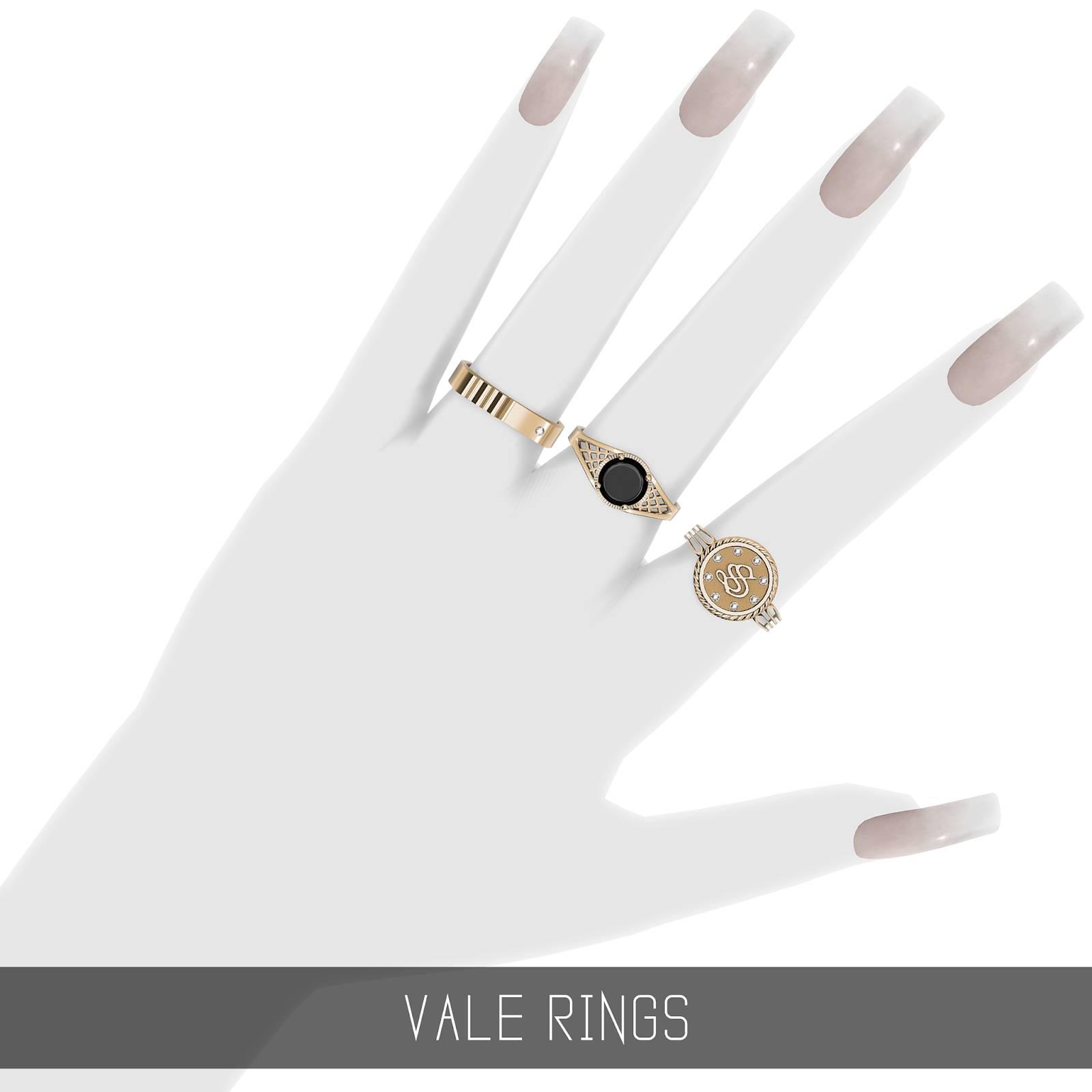 Комплект колец - VALE RINGS