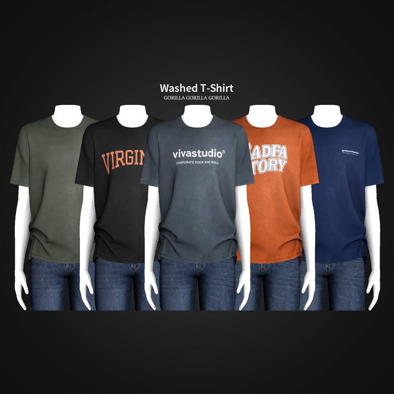 Футболка - Washed T-Shirt